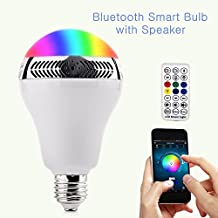 drillpro ampoule bluetooth bluetooth 40 smart app ampoule led standard culot e27 avec haut parleur smart bulb en lumiere colore dimmable - Lumire Colore