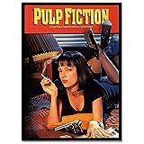 LaMAGLIERIA Poster Alta qualità - Pulp Fiction - su Carta Lucida Fotografica - Grande Formato, 30cmx40cm