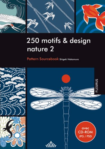 250 motifs et design nature 2 (+ CD-ROM)
