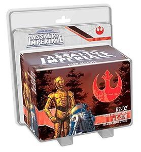 Asterion 9009-Juegos Assalto Imperial, R2D2y C 3PO