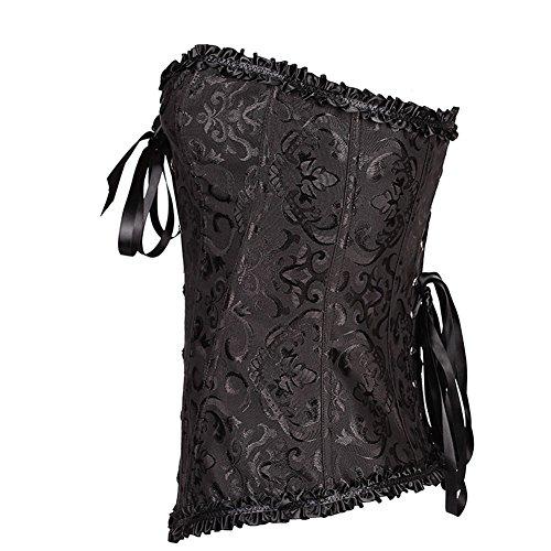 Missyhot Frauen Sexy Elastisch Training Damenunterwäsche Hüfthalter Shapewear Schwarz Weiß Schwarz