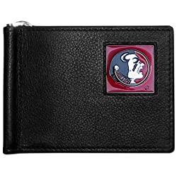 NCAA Florida State Seminoles Leather Bill Clip Wallet