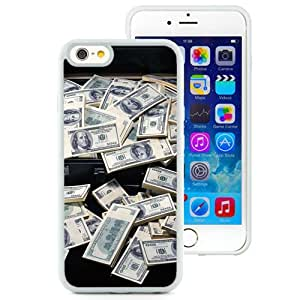 6 Phone cases, Dollars Money Notes Case White iPhone 6 4.7 inch TPU cell phone case