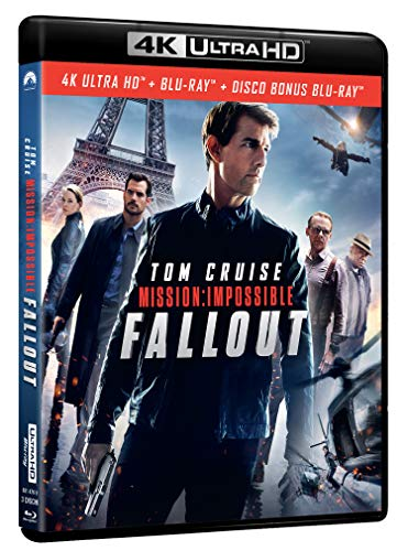 Mission Impossible - Fallout (Blu-Ray 4K Ultra HD+Blu-Ray) [Italia] [Blu-ray]