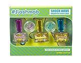 Die besten Glitter Nagellacke - Markwins Flashmob Shock Wave Nagellack-Set mit Glitter-Steinen für Bewertungen