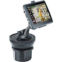 NavGear Navigation Halterung: Universal-Getränkehalter-Adapter für Navi-Halterungen (Navi-Halter für Auto und LKW)