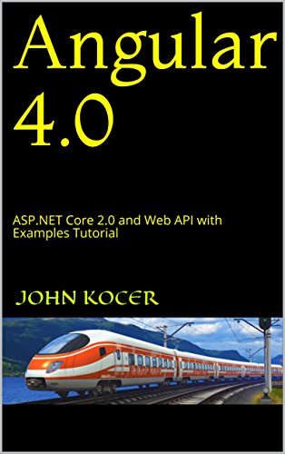Angular 4.0:  ASP.NET Core 2.0 and Web API with Examples Tutorial