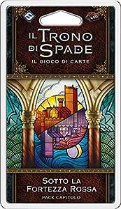 Asmodee Italia - Juego de Tronos LCG 2nd expansión bajo la Fortaleza roja, edición íntegramente en Italia, Color, 9247