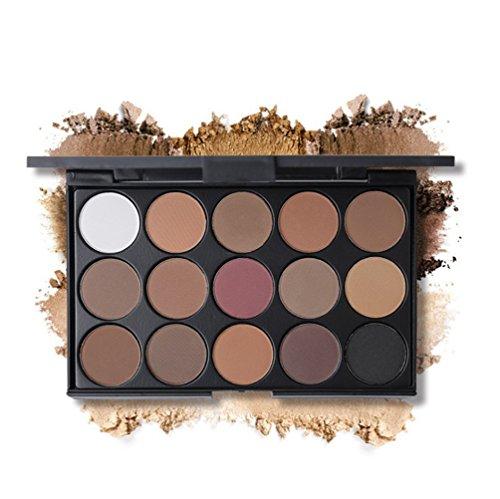JasCherry Paleta Sombras Ojos 15 Colores Maquillaje