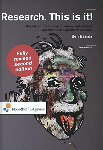 Research. This is it!: guidelines how to design, perform and evaluate quantitative and qualitative research