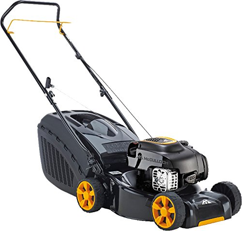 mcculloch-m40-125-push-petrol-rotary-lawn-mower-400mm-cut-width-with-steel-deck-briggs-stratton-450e