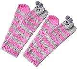 Fascigirl Calcetines Niña, Winter Kitten OverKnee Calcetines cómodos y difusos para niñas