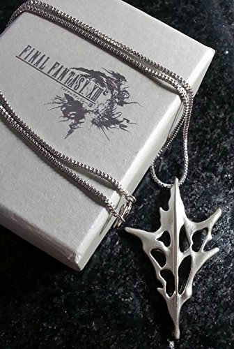 Final Fantasy XIII Lightning Halskett Necklace | FF13 Kostüm Cosplay Dissidia Cloud Sephiroth RPG XV - Sephiroth Cosplay Kostüm
