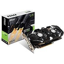 Msi GTX 1060 3GT OC - Tarjeta gráfica (3GB GDDR5, GeForce GTX 1060, PCI Express x16 3.0), color negro