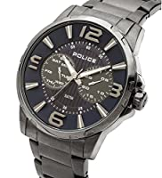 INTELIHANCE. 14100JSU/03M - Reloj de cuarzo para hombre, con correa de acero inoxidable, color plateado de INTELIHANCE.