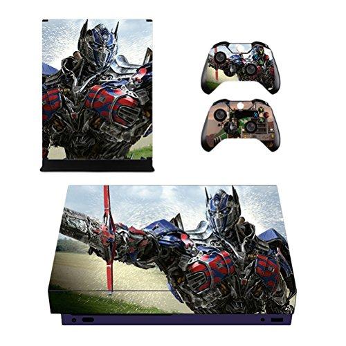 Sticker Aufkleber Schutzhülle für Xbox One X console Skin + 2 Xbox One X Controller Skin Sticker Aufkleber (Anime Xbox Controller Haut)