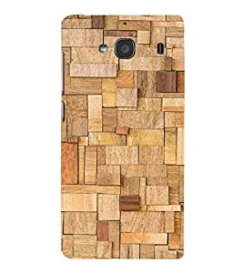 For Xiaomi Redmi 2 :: Xiaomi Redmi 2S :: Xiaomi Redmi 2 Prime wood texture, ecological background Designer Printed High Quality Smooth Matte Protective Mobile Case Back Pouch Cover by APEX