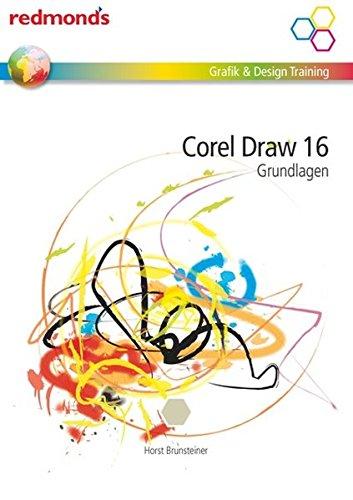 Corel Draw 16 Grundlagen: redmond's Grafik & Design Training Buch-Cover