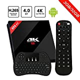 [Android 7.1 3GB+32GB] SINUK H96 Pro plus Smart Internet TV Box mit Amlogic S912 Octa Core CPU, 3GB RAM+32GB ROM...