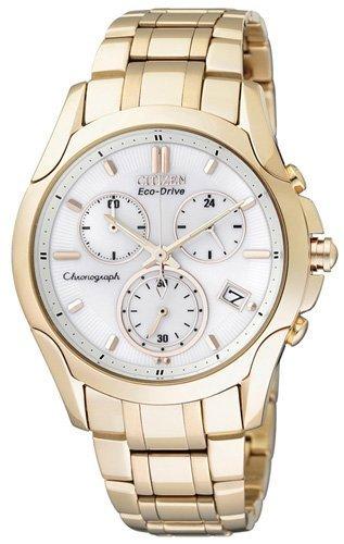 Citizen citizen damenuhr lady chrono fb1152-51a - orologio da polso donna, acciaio inox, colore: oro
