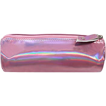 LA HAUTE Pencil Case Holographic Stationery Organiser Zipper Pen Bags Pencil  Holders Cosmetics Bags Coin Pouch c05f099e0ea59