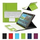 Clavier AZERTY Bluetooth 3.0 Étui Housse pour tout système Windows Android Tablette...