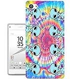 002726 - Alien Ugo Hippie Tie Dye Pattern Design Sony