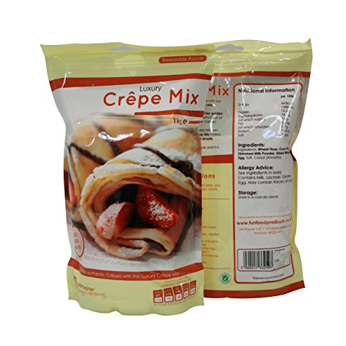 Luxury Crepe Mix - 1kg - Crepe Mixture Perfect for Crepe Makers Test
