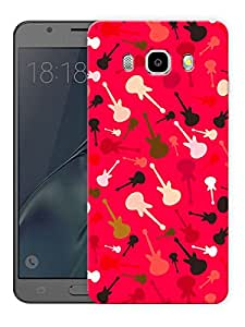"""Humor Gang Guitars Music LovePrinted Designer Mobile Back Cover For """"Samsung Galaxy J5 2016 Edition"""" (3D, Matte Finish, Premium Quality, Protective Snap On Slim Hard Phone Case, Multi Color)"""