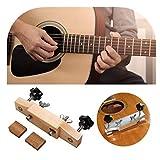 Nearthfr Maple Guitar Bridge Caul Clamp - Jeu de Barres de Serrage pour réparation de Guitares Miantenance Tools - Guitares acoustiques/Classiques Luthier Tools