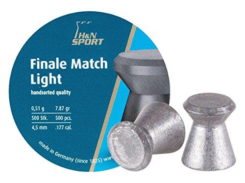H&N Finale Match Light 4,50 mm Diabolo/Luftgewehrkugel