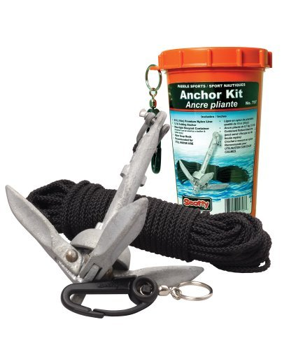 Scotty Anchor-pack (Scotty Anchor Pack with 1.5 Pound Anchor Line in Watertight Jar by Scotty)