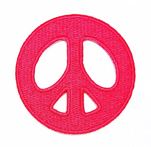rabana Peace Sign Cartoon Kids Kinder Cute Animal Patch für Heimwerker-Applikation Eisen auf Patch T Shirt Patch Sew Iron on gesticktes Badge Schild Kostüm