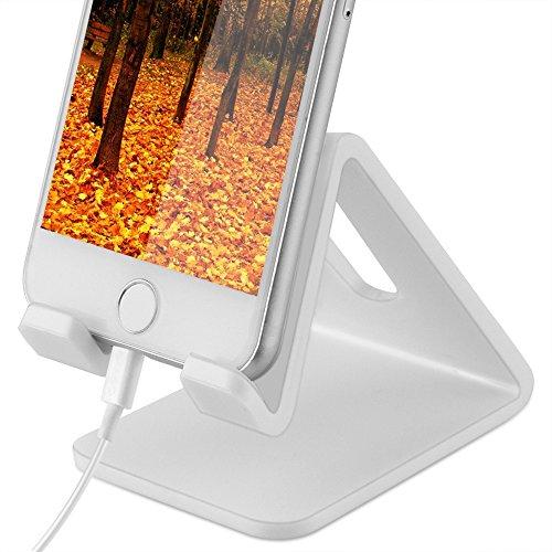 Handy Halterung,Yica ABS Rutschfestes Silikon Handy Ständer,iPad Tablets Halterung Halter für iPhone 7, 7 Plus, 6s 6 / Plus, SE, 5 5s 5c, Samsung A3 A5 J3 J5 J7 S6 S7 S8 usw