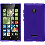 TBOC® Blau Gel TPU Hülle für Nokia Microsoft Lumia 532