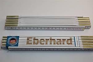 Zollstock mit Namen EBERHARD Lasergravur