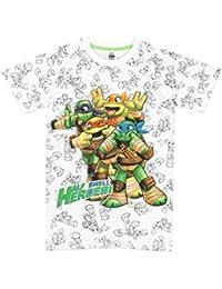Teenage Mutant Ninja Turtles Boys Ninja Turtles T-Shirt Ages 3 to 10 Years