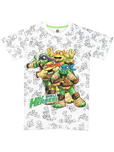 Teenage Mutant Ninja Turtles Jungen Ninja Turtles T-Shirt 110cm (Teenage Mutant Ninja Turtles Shirt)