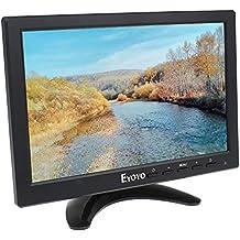 "Elikliv 10"" Monitor LED Pantalla HD 1280*800 Con VGA HDMI BNC PC DVD Game CCTV Video Audio"