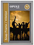 OPUS 2 355002 Snap Aluminium Klapprahmen A3, 20 mm