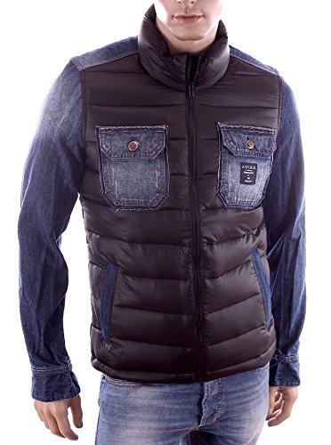 Kaporal jeans-Giacca piumino di Chico inverno 2015, da uomo, colore: nero nero Medium