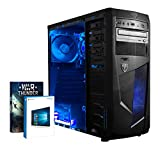 Vibox VBX-PC-00155 Ultra 11 Gaming Desktop-PC (AMD A Series A8-7600, 8GB RAM, 1TB HDD, AMD Radeon R7, Win 10 Home) blau