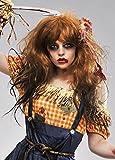 Magic Box Peluca de Mujer Halloween Zombie espantapájaros