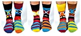 United Oddsocks - Funk You - Herren 6 verschiedene Socken