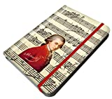 Fridolin Carnet de notes motif Mozart Portrait et notes