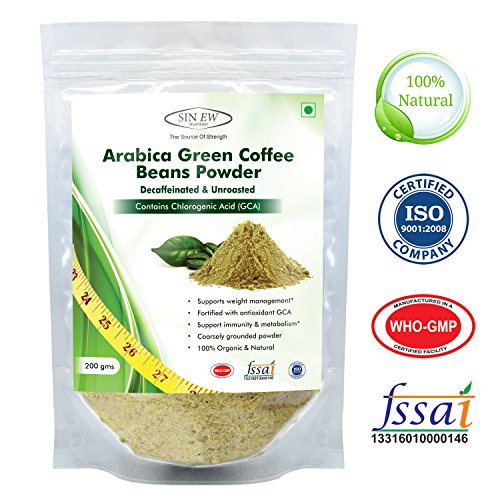 Sinew Nutrition Arabica Green Coffee Beans Powder - 200 g