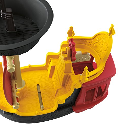 Mattel Fisher-Price Y2265 – Jake und die Nimmerland Piraten Käpt'n Hooks Jolly Roger Piratenschiff - 6