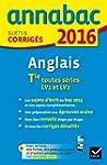 Annales Annabac 2016 Anglais Tle LV1...