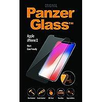 PanzerGlass 2625 - Protector de pantalla (Protector de pantalla, Apple, iPhone X, Resistente a arañazos, Negro, 1 pieza(s))