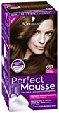 Schwarzkopf - Perfect Mousse - Coloration Cheveux - Mousse Permanente sans Ammoniaque - Choco Caramel 657